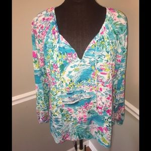 Lilly Pulitzer Willa Postcards from Positano top S